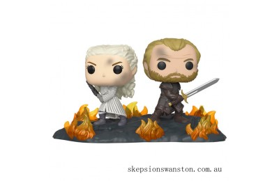 Game of Thrones Daenerys & Jorah with Swords Funko Pop! Vinyl Clearance Sale