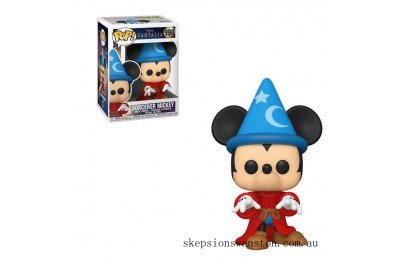 Disney Fantasia 80th Sorcerer Mickey Pop! Vinyl Figure Clearance Sale