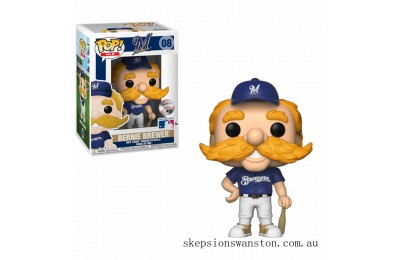 MLB Bernie The Brewer Funko Pop! Vinyl Clearance Sale
