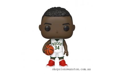 NBA Milwaukee Bucks Giannis Antetokounmpo Funko Pop! Vinyl Clearance Sale