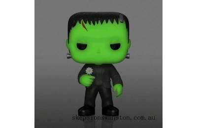 Universal Monsters Frankenstein With Flower GITD EXC Funko Pop! Vinyl Clearance Sale