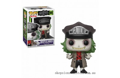 Beetlejuice with Hat Funko Pop! Vinyl Clearance Sale