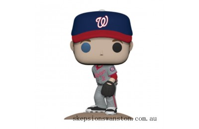 MLB New Jersey Max Scherzer Funko Pop! Vinyl Clearance Sale