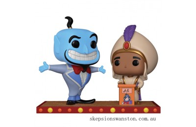 Aladdin Genie Funko Pop! Movie Moment Clearance Sale