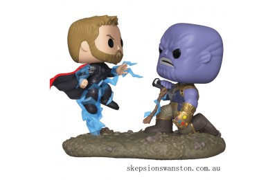 Marvel Thor vs Thanos Funko Pop! Movie Moment Clearance Sale