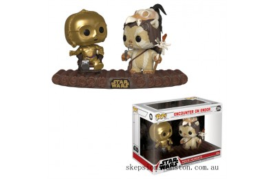 Star Wars Encounter on Endor Funko Pop! Movie Moment Clearance Sale