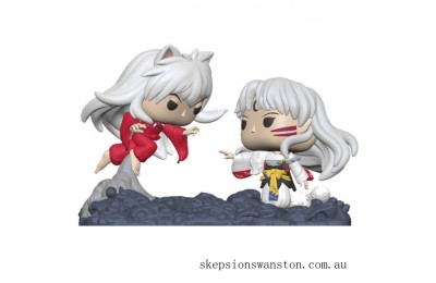 Inuyasha Inuyasha Vs. Sesshomaru Funko Pop! Comic Moment Clearance Sale