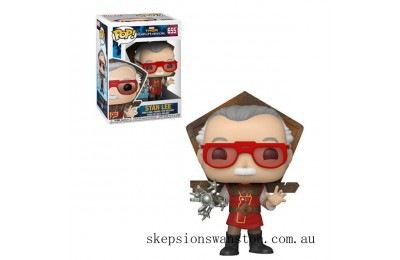 Marvel Stan Lee in Ragnarok Outfit Funko Pop! Vinyl Clearance Sale