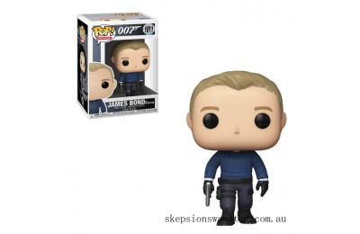 James Bond No Time To Die James Bond Funko Pop! Vinyl Clearance Sale