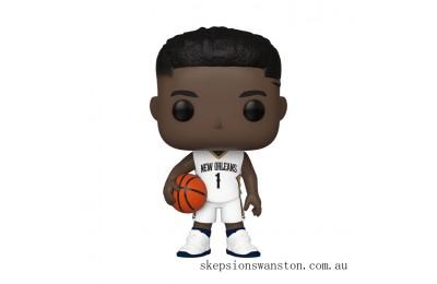 NBA Pelicans Zion Williamson Funko Pop! Vinyl Clearance Sale