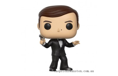 James Bond Roger Moore Funko Pop! Vinyl Clearance Sale