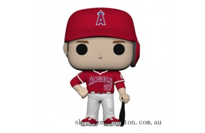 MLB New Jersey Mike Trout Funko Pop! Vinyl Clearance Sale
