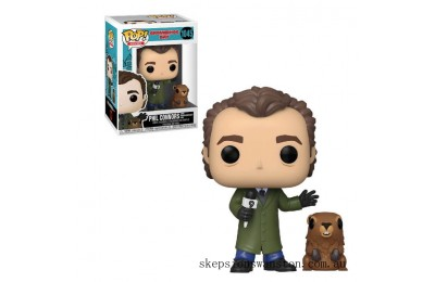 Groundhog Day Phil with Punxsutawney Phil Funko Pop! Vinyl Clearance Sale
