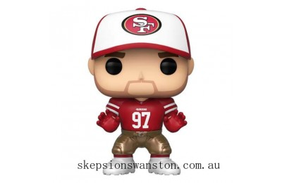 NFL 49ers Nick Bosa Home Jersey Funko Pop! Vinyl Clearance Sale