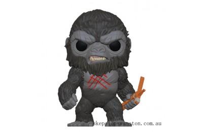 Godzilla vs Kong Battle-Scarred Kong Funko Pop Vinyl Clearance Sale