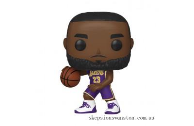NBA Los Angeles Lakers Lebron James Funko Pop! Vinyl Clearance Sale