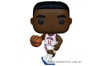 NBA Legends Isiah Thomas (Pistons Home) Pop! Vinyl Figure Clearance Sale