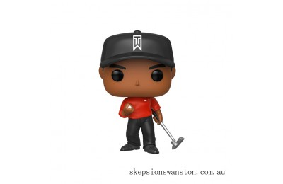 Tiger Woods (Red Shirt) Funko Pop! Vinyl Clearance Sale