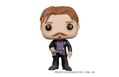 Tombstone Doc Holliday with Cup EXC Funko Pop! Vinyl Clearance Sale