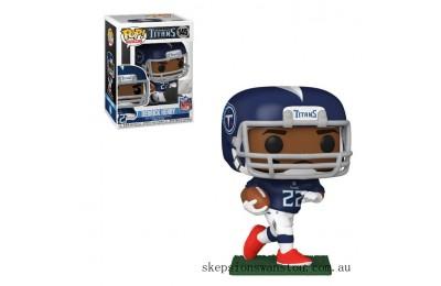 NFL Tennessee Titans Derrick Henry Funko Pop! Vinyl Clearance Sale