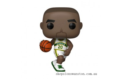 NBA Legends Gary Payton Sonics (Home Jersey) Funko Pop! Vinyl Clearance Sale