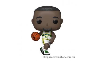 NBA Legends Shawn Kemp Sonics Home Jersey Funko Pop! Vinyl Clearance Sale