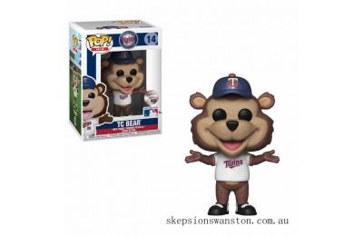 MLB Twins T.C Bear Funko Pop! Vinyl Clearance Sale
