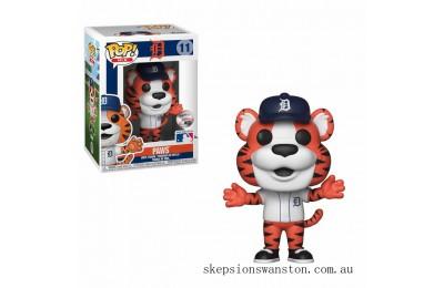 MLB Detroit Paws Funko Pop! Vinyl Clearance Sale