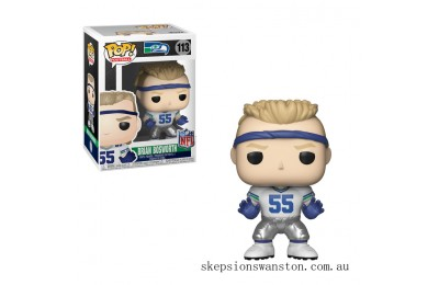 NFL Legends - Brian Bosworth Funko Pop! Vinyl Clearance Sale