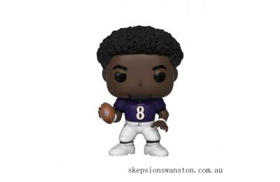 NFL Ravens Lamar Jackson Funko Pop! Vinyl Clearance Sale