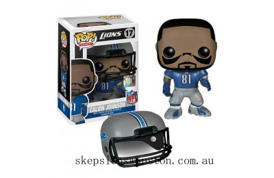 NFL Calvin Johnson Wave 1 Funko Pop! Vinyl Clearance Sale