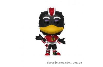 NHL Blackhawks Tommy Hawk Funko Pop! Vinyl Clearance Sale