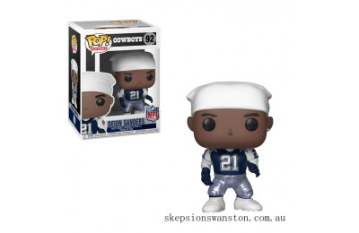 NFL Legends - Deion Sanders Throwback Funko Pop! Vinyl Clearance Sale