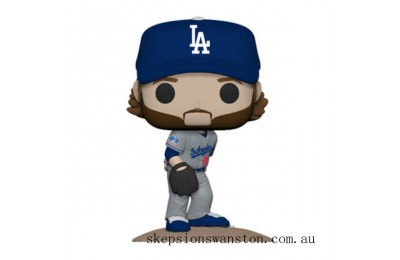 MLB New Jersey Clayton Kershaw Funko Pop! Vinyl Clearance Sale