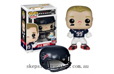 NFL JJ Watt Wave 1 Funko Pop! Vinyl Clearance Sale