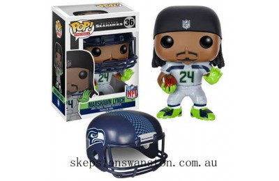 NFL Marshawn Lynch Wave 2 Funko Pop! Vinyl Clearance Sale