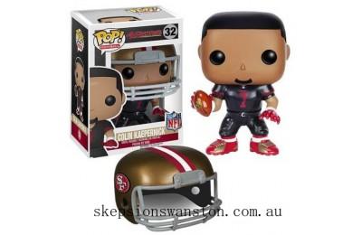 NFL Colin Kaepernick Wave 2 Funko Pop! Vinyl Clearance Sale