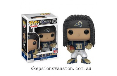 NFL Todd Gurley Wave 3 Funko Pop! Vinyl Clearance Sale