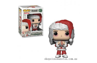 Trading Places Santa Louis with Salmon Funko Pop! Vinyl Clearance Sale