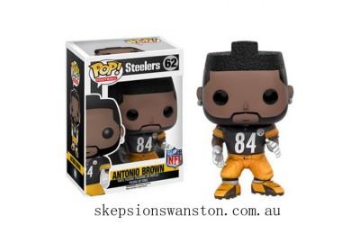 NFL Antonio Brown Wave 3 Funko Pop! Vinyl Clearance Sale