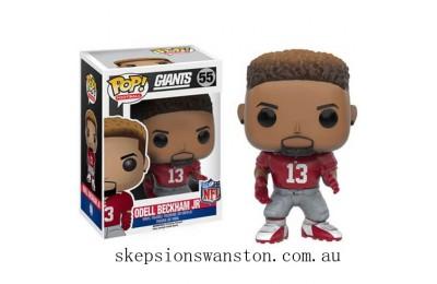 NFL Odell Beckham Jr. Wave 3 Funko Pop! Vinyl Clearance Sale