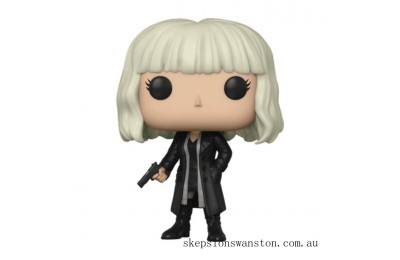 Atomic Blonde Lorraine Outfit 2 Funko Pop! Vinyl Clearance Sale