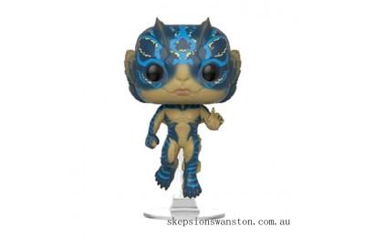 Shape of Water Amphibian Man with Glow Funko Pop! Vinyl Clearance Sale