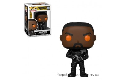 Hobbs & Shaw Brixton with Orange Eyes Funko Pop! Vinyl Clearance Sale