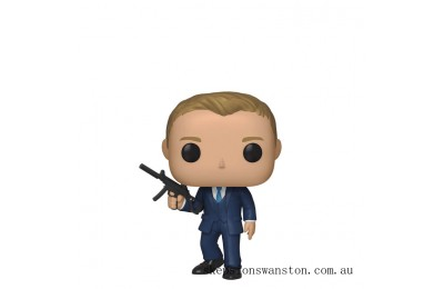 James Bond Quantum of Solace Daniel Craig Funko Pop! Vinyl Clearance Sale
