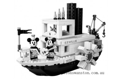 Outlet Sale Lego Steamboat Willie