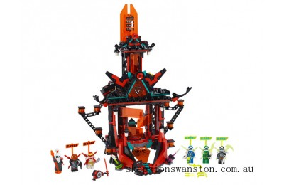 Genuine Lego Empire Temple of Madness
