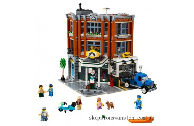 Discounted Lego Corner Garage