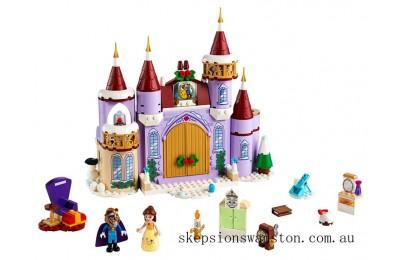 Genuine Lego Belle's Castle Winter Celebration