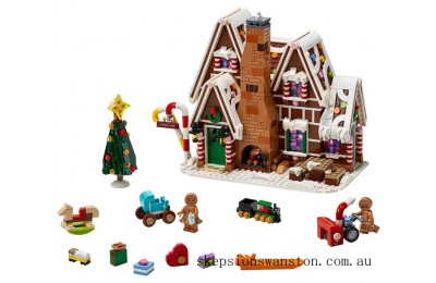 Genuine Lego Gingerbread House